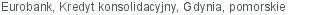 Eurobank Kredyt konsolidacyjny Gdynia pomorskie