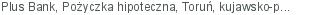 Plus Bank Pożyczka hipoteczna Toruń kujawsko-pomorskie